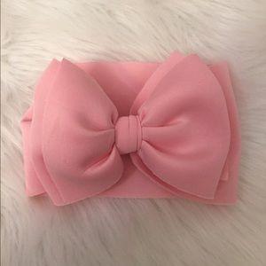 4 baby headwraps bows